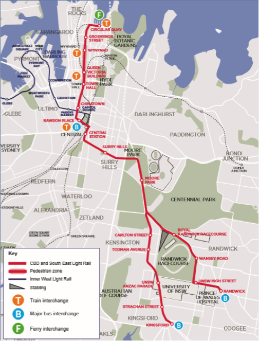 As Sydney plunges into Light Rail Mecone