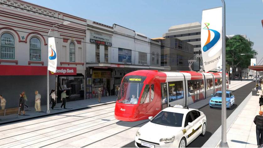 Light Rail in Parramatta