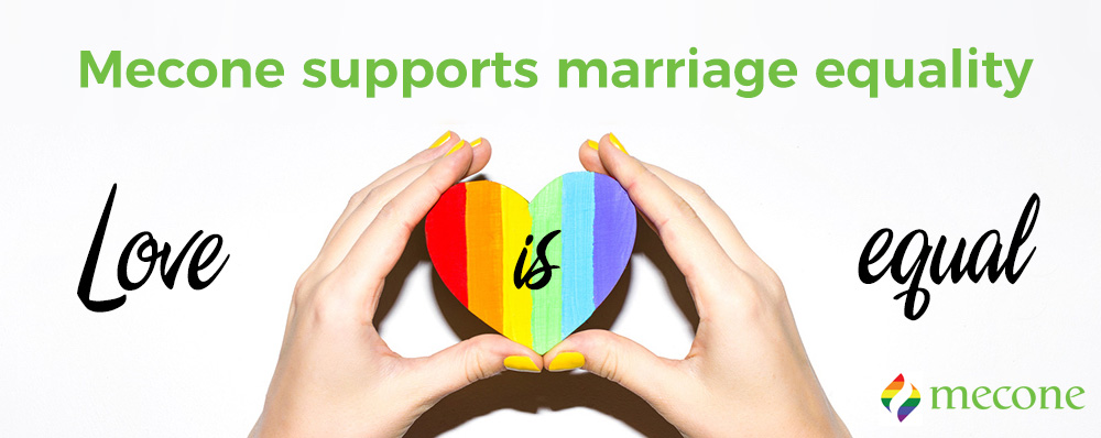 Mecone supports marriage equality