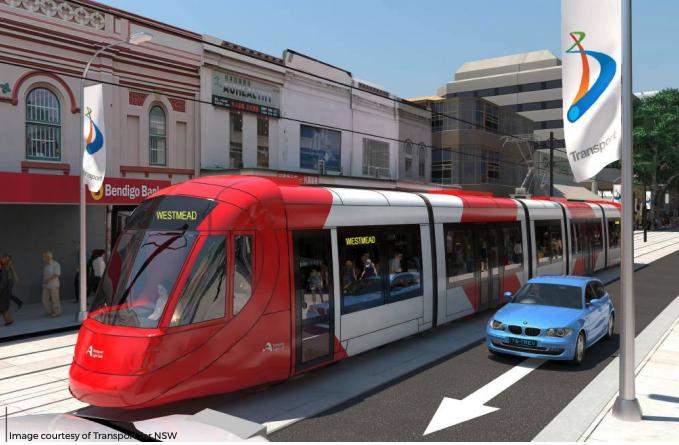 Parramatta Light Rail – Land Use Analysis and Value Capture